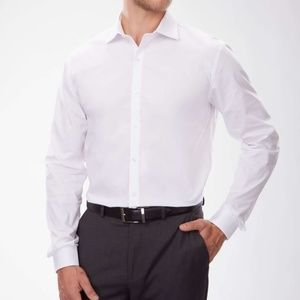 NWOT Kenneth Cole Reaction Slim Fit Non Iron Shirt